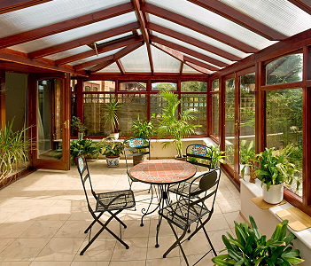 Poly-carbonate Conservatory Roofing